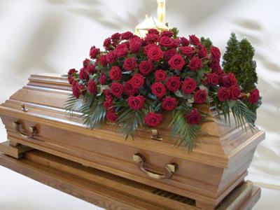 Rote Rosen Größe ca. 1 m