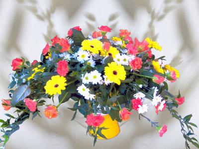 gemischte Blumen Größe ca. 70 cm